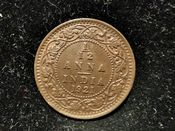 India, George V, 1/12th Anna 1921, VF, WB7613